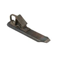 Башмак горочный железнодорожный (стальной)
