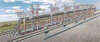 Эстакада для слива и налива железнодорожных цистерн
