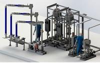 Система нижнего налива АСН-8НГ Модуль Ду100 2/2
