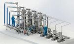Система нижнего налива АСН-8НГ Модуль Ду100 4/4