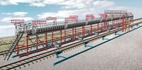 Эстакада для слива железнодорожных цистерн