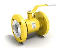 Кран шаровый газовый LD (равнопроходной)