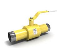 Кран шаровый для газа LD (равнопроходной)